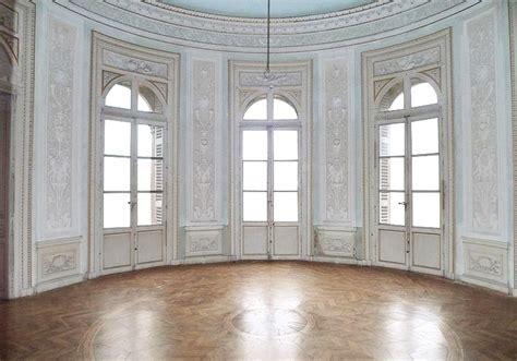 empty room castle light blue  transparent