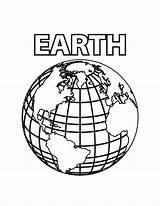Earth Coloring Printable Pages Planet Colouring Bestcoloringpagesforkids Print Worksheets Cool sketch template