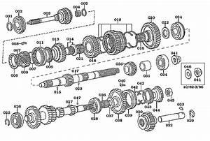 Land Cruiser 5 Speed Transmission Shafts  U0026 Gears