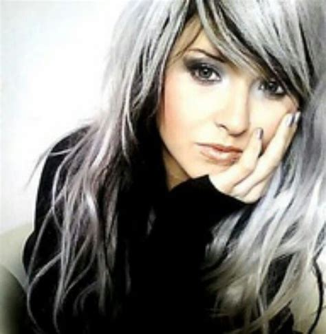 black and white hair color black and white hair color search moda