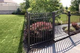 model 2254 aluminum fence fencing myerstown sheds