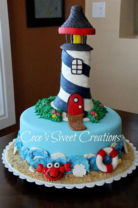 Lighthouse Birthday Cake Cakecentral M