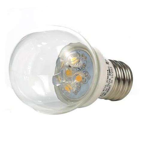 gbl lighting e17 s11 clr warm white globe led light bulb 1
