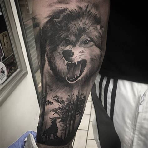 tatouage patte de loup signification cochese tattoo