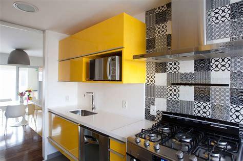 plane de travail cuisine 13 cozinhas americanas planejadas coloridas e modernas