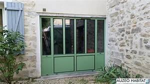 Auzeo habitat nos realisations fenetres aluminium for Porte de garage coulissante jumelé avec tordjman paris