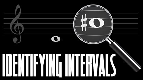 Specific intervals are measured both on the staff and in semitones on the keyboard. How to Identify Musical Intervals (Music Theory) - YouTube