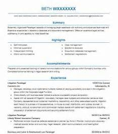 paralegal resumes that stand out best paralegal resume exle livecareer