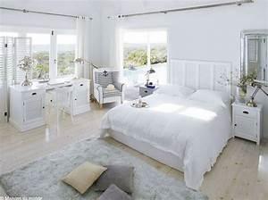 La Maison Du Blanc : la chambre se refait une beaut elle d coration ~ Zukunftsfamilie.com Idées de Décoration