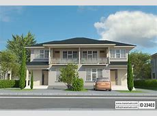 3 Bedroom Duplex House Plan ID 23403 House Designs by