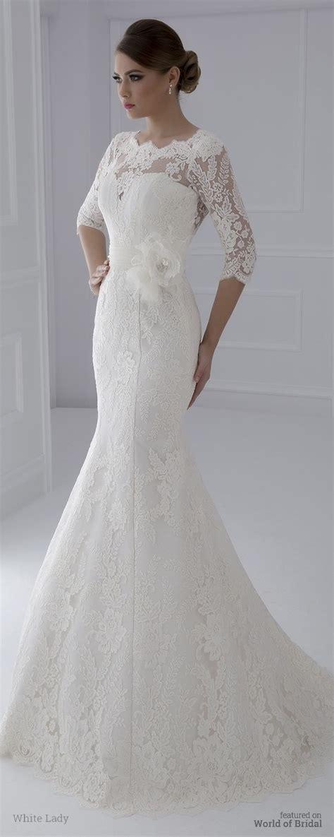 white lady  wedding dresses world  bridal