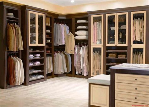 u shaped open wall closet ideas faced tufted