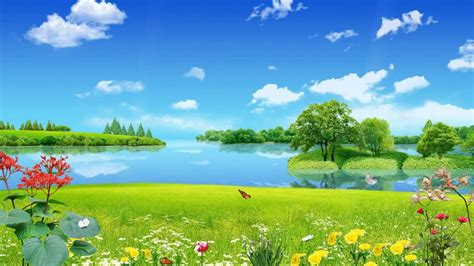 Beautiful Animation Wallpaper - beautiful nature animated wallpaper