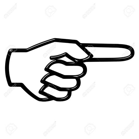 pointing finger clipart pointing clipart clipground