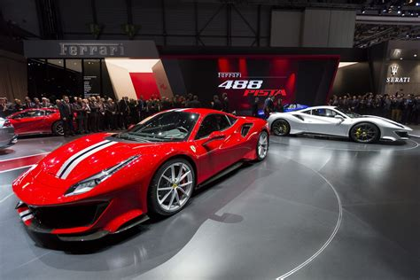 High-end Sports Cars Gleam At Geneva Auto Show. Bring