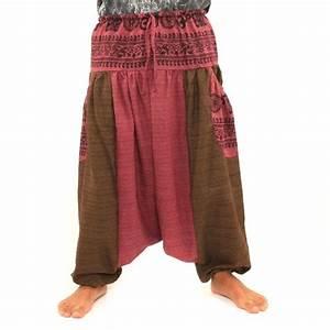 Deux Maximums Shop : pantalons afghani avec deux grandes poches lat rales dta36 ~ Markanthonyermac.com Haus und Dekorationen