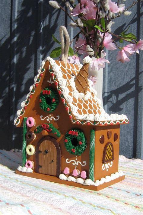 split level gingerbread fairy house  gingerbreadfaire