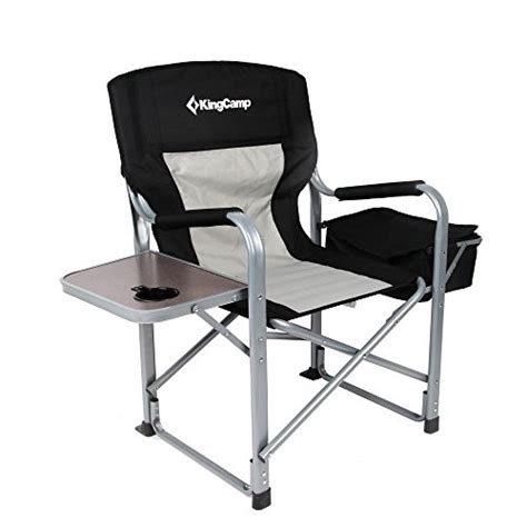 1 kingc heavy duty steel folding chair director