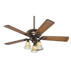 shop prestige by whitten 52 in bronze patina downrod or flush mount ceiling fan with