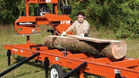 wood mizer ltgo portable sawmill ready