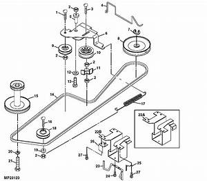John Deere Power Flow Bagger Parts Diagram