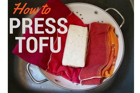 how to press tofu how to press tofu vegan chickpea