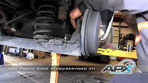 Replacement Of Rear Shocks On A 2001-2010 Chrysler Pt Cruiser