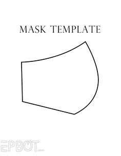 face mask pattern  sewing patter sewing patterns