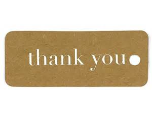 wedding guest gifts kraft thank you tags gold or silver my wedding favors