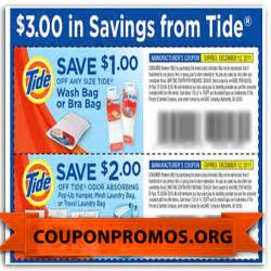 Free Tide Coupons Printable 2017