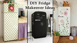 Diy, Fridge, Makeover, Ideas