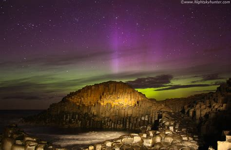 ireland northern lights s causeway and ballintoy harbour co