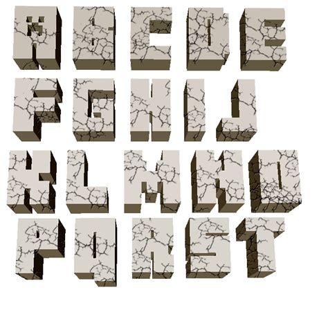 minecraft alphabet print request minecraft logo replica