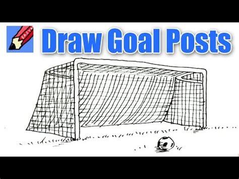 draw goal posts shoo rayner   draw
