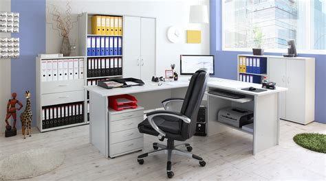 Büro & Arbeitszimmer 7teilig Bigset Mod839640 Lightgrey