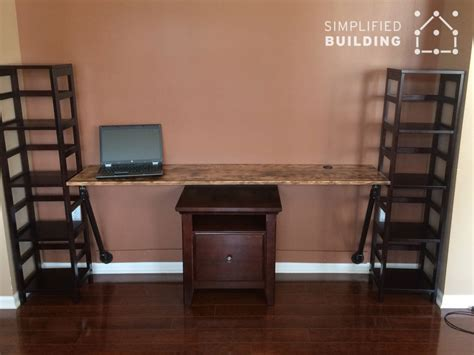 great desks for small spaces wall mounted desks great for small spaces simplified