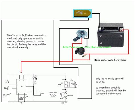 wiring a 2 wire flasher relay motorcycle wiring free