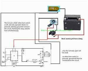 Wiring A 2 Wire Flasher Relay Motorcycle  Wiring  Free Engine Image For User Manual Download