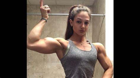 annie lemay cute female bodybuilder  canada youtube