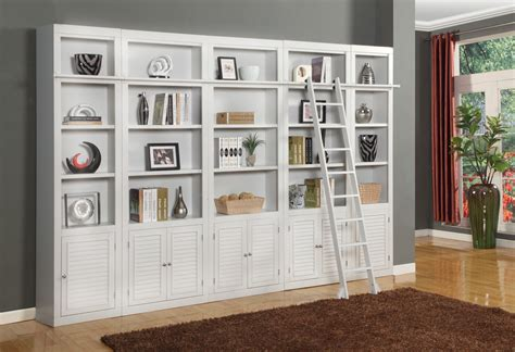 library wall units bookcase boca 5 piece library wall unit from parker house boc 420