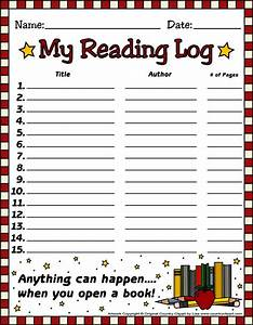 FREE Reading Log Templates from Country Clipart By Lisa ...