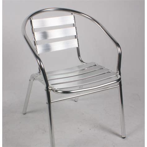 chaise aluminium pas cher bien choisir une chaise de jardin en aluminium pas chère