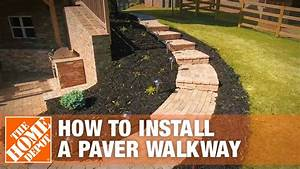 How To Install A Paver Walkway