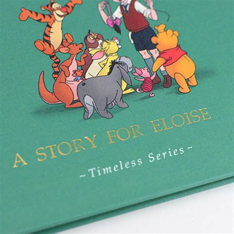 personalized disneys winnie  pooh story book