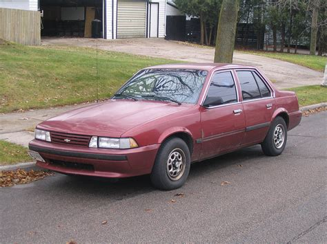 1989 Chevrolet Cavalier  Information And Photos Momentcar