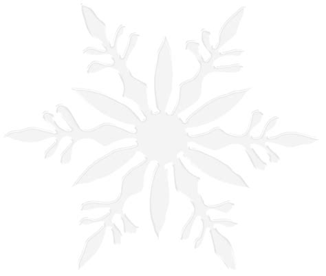 Transparent Background Snowflake Border by Snowflake Clipart Transparent Background 101 Clip