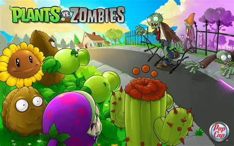 popcap plants vs zombies wallpapers and more