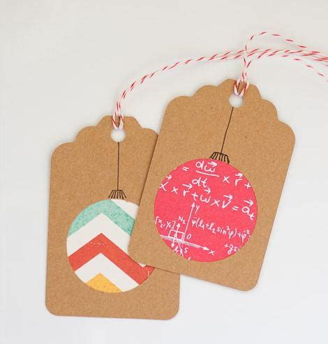 paper ornament christmas gift tags