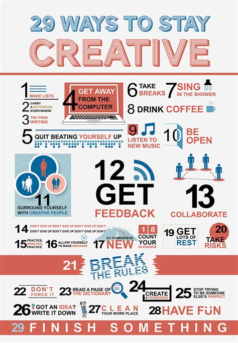 29 Ways To Stay Creative And Be Successful  The Start Of