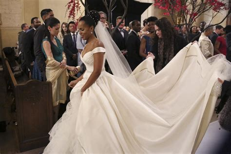 Scandal's Olivia Pope's Wedding Gown
